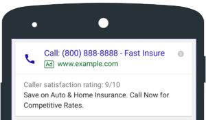 Google Ads Call Extension Strategy