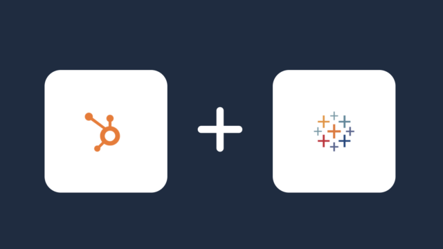 hubspot and tableau