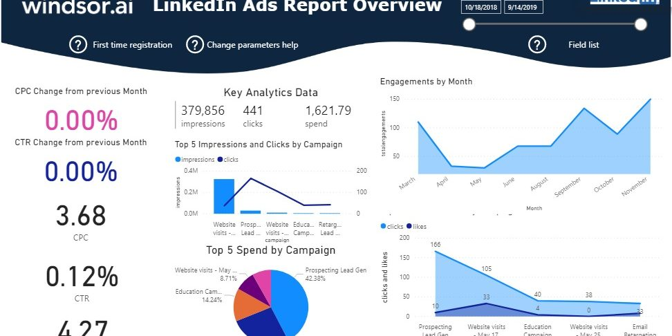 LinkedIn Ads Report Overview